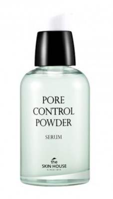 Сыворотка «Пор контрол» THE SKIN HOUSE Pore control powder serum 50 мл: фото