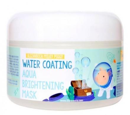 Маска увлажняющая для сияния кожи ELIZAVECCA Milky Piggy Water Coating Aqua Brightening Mask: фото