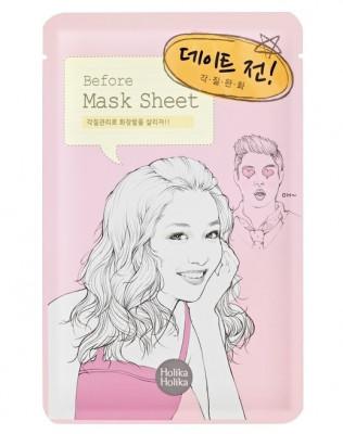 Маска тканевая Перед свиданием Holika Holika Mask Sheet Before Date 18мл: фото