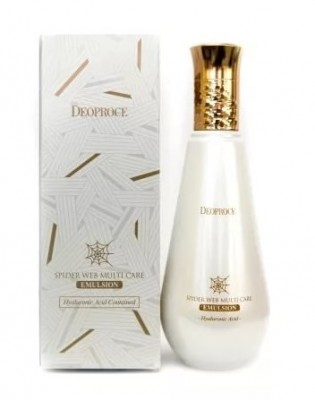 Эмульсия c протеинами паутины DEOPROCE Spider web multi-care emulsion 150мл: фото