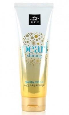 Маска для придания блеска MISE EN SCENE Pearl Smooth & Silky Moisture Treatment: фото