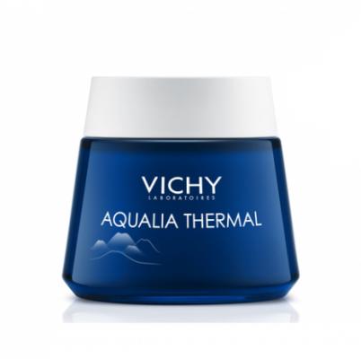 Крем-гель ночной СПА-ритуал VICHY Aqualia Thermal 75мл: фото