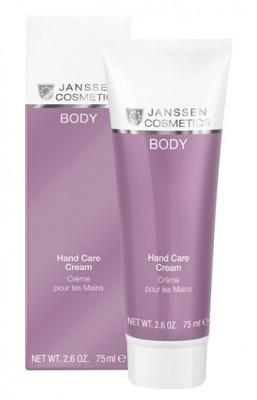 Крем для рук увлажняющий восстанавливающий Janssen Cosmetics Hand Care Cream 75 мл: фото