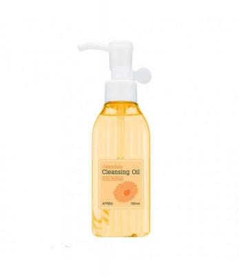 Масло гидрофильное для лица A'PIEU Calendula Cleansing Oil Pore Melting 150мл: фото