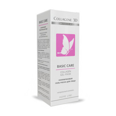 Гель-маска чистый коллаген Collagene 3D BASIC CARE 30 мл: фото