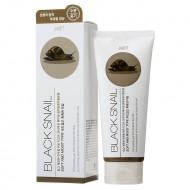 Пилинг-гель с муцином черной улитки JIGOTT Premium Facial Black Snail Peeling Gel: фото