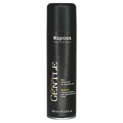 Мужской гель для бритья для чувствительной кожи с охлаждающим эффектом Kapous Professional, 200 мл: фото