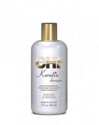 Кератиновый шампунь CHI Keratin 355 мл: фото