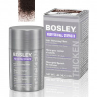 Кератиновые волокна BOSLEY Hair Thickening Fibers темно-коричневые 12г: фото