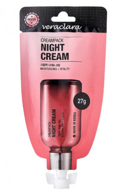 Крем ночной Восстанавливающий Veraclara Creampack Night Cream 27г: фото