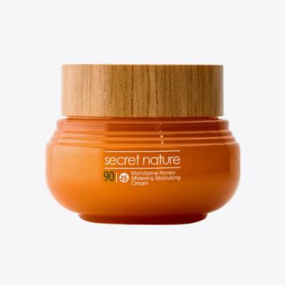 Крем с экстрактом мандарина и прополиса Secret Nature Mandarine Honey Whitening Moisturizing Cream 60 мл: фото