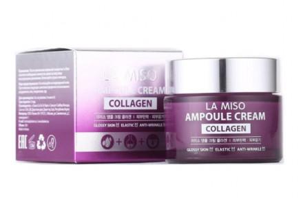Крем ампульный антивозрастной с коллагеном LA MISO Ampoule Cream Collagen 50 мл: фото