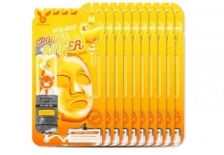 НАБОР Тканевых масок с Витаминами Elizavecca VITA DEEP POWER Ringer mask pack 23мл*10шт: фото