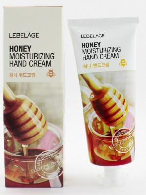 Крем для рук увлажняющий с экстрактом меда Lebelage Moisturizing Hand Cream Honey 100 мл: фото