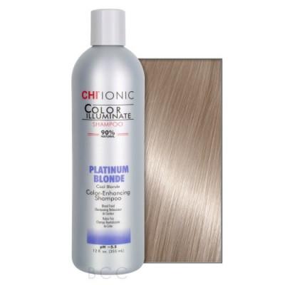 Шампунь тонирующий CHI Color Illuminate Platinum Blonde Shampoo платиновый блонд 355 мл: фото