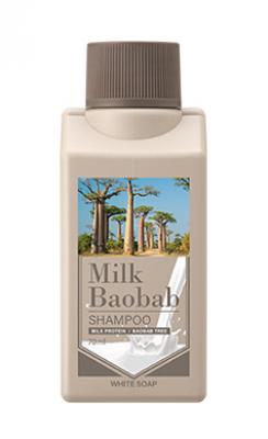 Шампунь с ароматом белого мыла Milk Baobab Shampoo White Soap Travel Edition 70мл: фото
