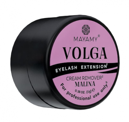 Ремувер для ресниц кремовый MAYAMY VOLGA Malina 5г: фото