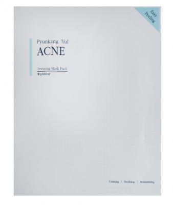 Маска на тканевой основе для проблемной кожи лица Pyunkang Yul ACNE Dressing Mask Pack 18г: фото