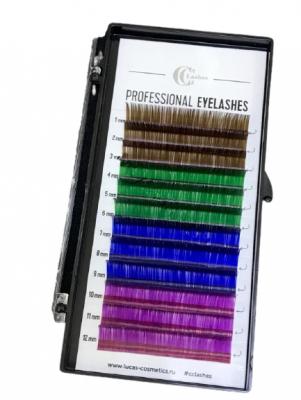 Ресницы CC Lashes D 0.10 / 14, color mix: фото
