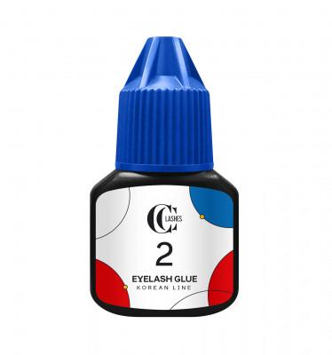 Клей для наращивания ресниц CC Lashes 2 Eyelash glue Korean line 5 г: фото