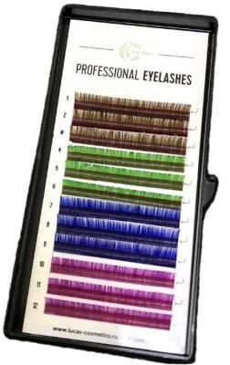 Ресницы CC Lashes D 0.07 / 10, color mix: фото