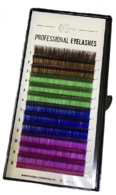 Ресницы CC Lashes C 0.07 / 12, color mix: фото