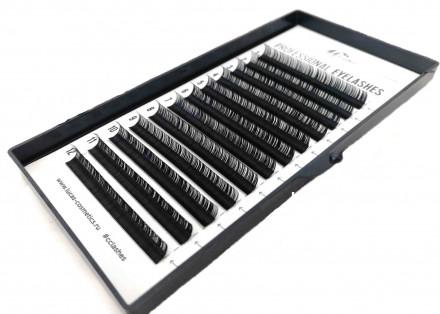 Ресницы CC Lashes D 0.10 mix (7-12 мм): фото