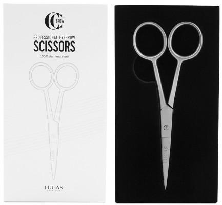 Ножницы для бровей Lucas Cosmetics, классические: фото