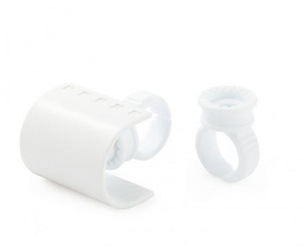 Кольцо-планшет для ресниц и клея CC Lashes: фото