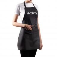 Фартук CC Brow, черный, нейлон длина 76 см: фото