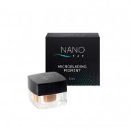 Пигмент для микроблейдинга бровей NANO TAP dark brown 5 мл: фото
