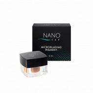 Пигмент для микроблейдинга бровей NANO TAP brown 5 мл: фото