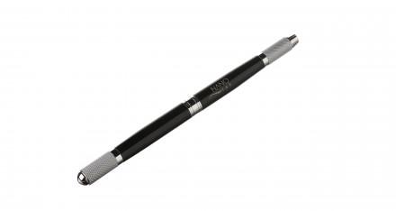 Ручка-манипула для микроблейдинга NANO TAP черная: фото
