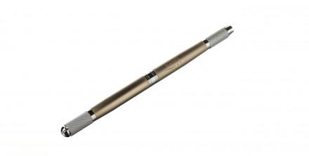 Ручка-манипула для микроблейдинга NANO TAP, шампань: фото
