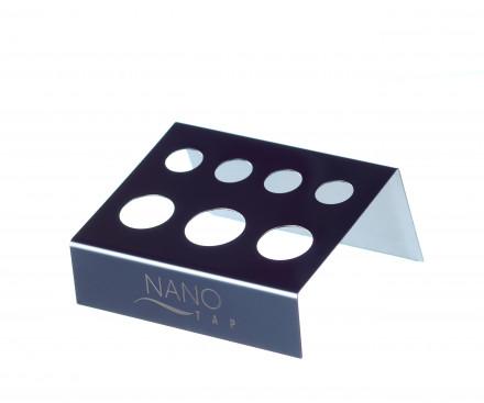 Подставка-держатель для стаканчиков для микроблейдинга стальная NANO TAP: фото