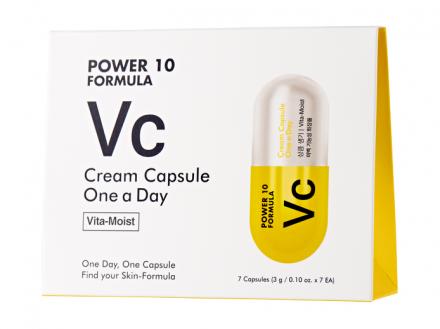 Тонизирующий крем-капсула It's Skin Power 10 Formula VC Cream Capsule One a Day 3г*7шт: фото
